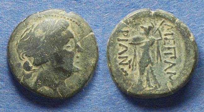 Ancient Coins - Thrace, Messembria 250-175 BC, AE18