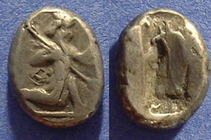 Ancient Coins - Persian Empire - Siglos 450-375 BC