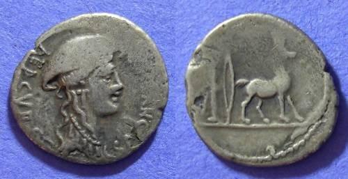 Ancient Coins - Roman Republic - Plancia 1 Denarius  194-190 BC