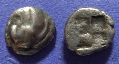 Ancient Coins - Chersonesos Thrace – Diobol Circa 500-480BC