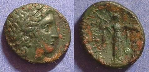 Ancient Coins - Seleucid Kingdom - Seleukos I 312-281 BC AE19