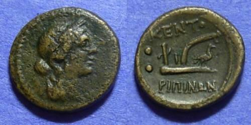 Ancient Coins - Kentoripai Sicily  AE Hexas circa 241 BC