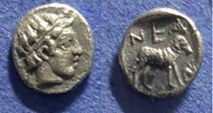 Ancient Coins - Neandria, Troas Circa 350 BC, Obol