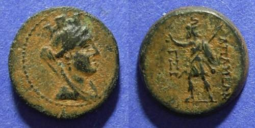 Ancient Coins - Apameia, Seleucis & Pieria 150 BC, AE15