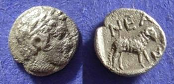 Ancient Coins - Neandria Troas obol circa 400BC