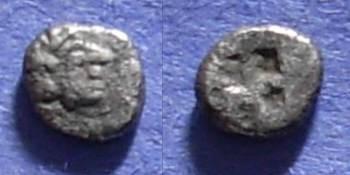 Ancient Coins - Colophon, Ionia Circa 500 BC, Tetartemorion
