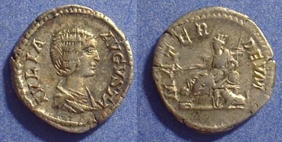 Ancient Coins - Julia Domna 193-217 Denarius