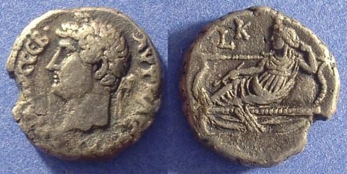 Ancient Coins - Roman Egypt - Hadrian 117-138AD Tetradrachm
