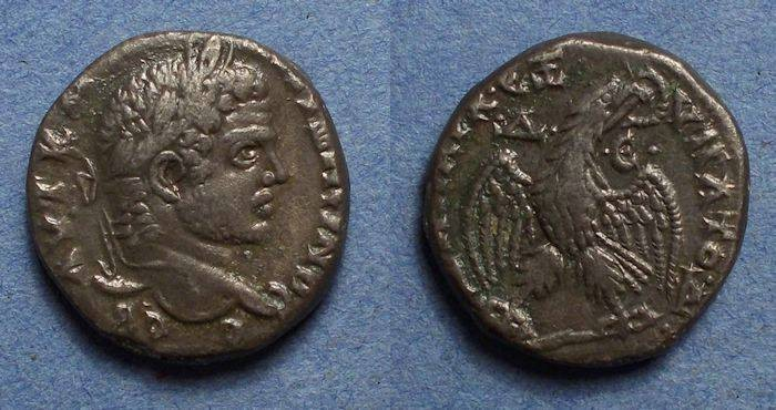 Ancient Coins - Roman Antioch, Caracalla 198-217, Tetradrachm