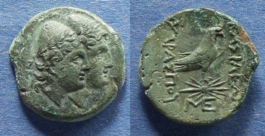 Ancient Coins - Kings of Scythia, Charaspes Circa 150 BC, AE22