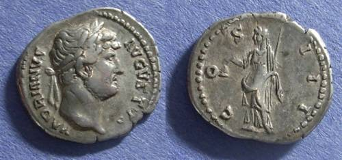 Ancient Coins - Roman Empire, Hadrian 117-138, Denarius