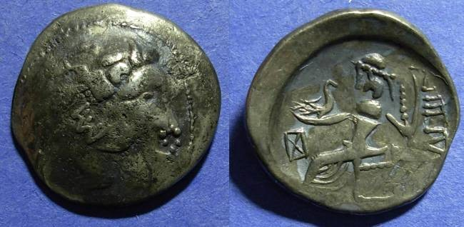 Ancient Coins - Celtic, Lower Danube Region Circa 150 BC, Tetradrachm