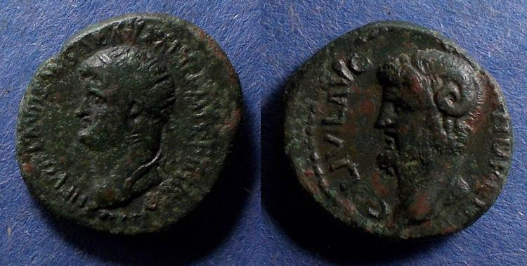 Ancient Coins - Macedonia, Cassandreia, Nero 54-68, AE22