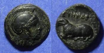 Ancient Coins - Klazomenai, Ionia Circa 350BC, AE11