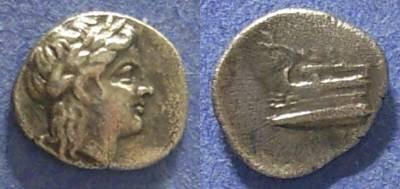 Ancient Coins - Bithynia, Kios 350-300 BC, Trihemiobol