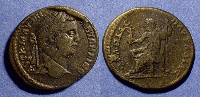 Ancient Coins - Caracalla 198-217AD - AE30 of Pautalia Thrace