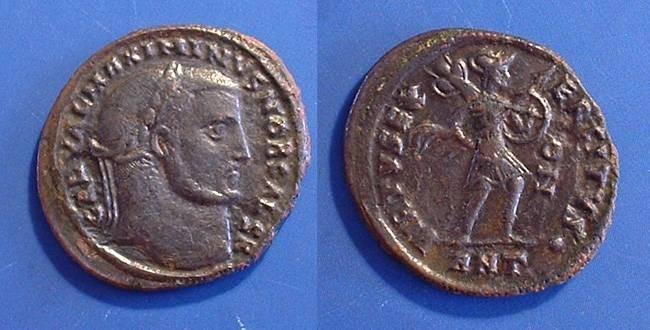 Ancient Coins - Maximinus II Daia (as Caesar) 305-308AD - AE Follis