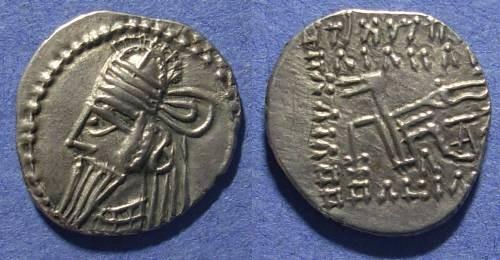 Ancient Coins - Parthia, Osroes II 190 AD, Drachm