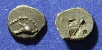 Ancient Coins - Thasos (?), Islands off Thrace Circa 470 BC, Hemiobol