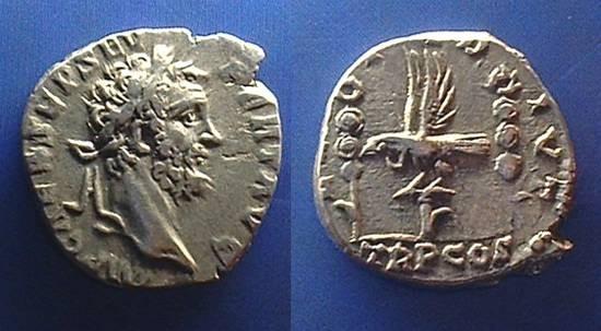 Ancient Coins - Septimius Severus 193-211 AD, Legion I ADIVT  Ex-CNG Mail Auction #55