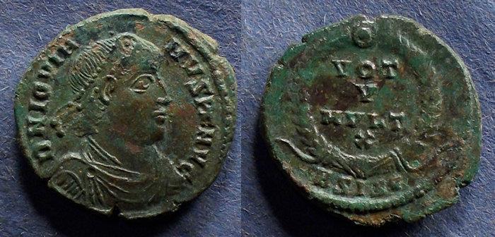 Ancient Coins - Roman Empire, Jovian 363-4, AE3