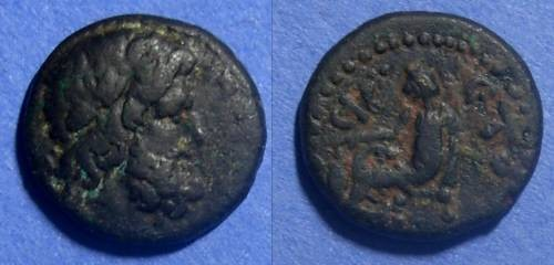 Ancient Coins - Roman Antioch, Time of Nero 66/67 AD, AE18