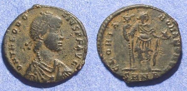 Ancient Coins - Theodosius 379-395AD AE2