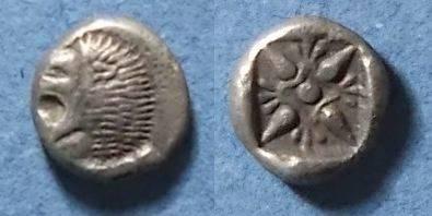 Ancient Coins - Miletos, Ionia Circa 500 BC, Diobol
