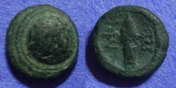 Ancient Coins - Selge Pisidia –AE11 Circa 200 BC