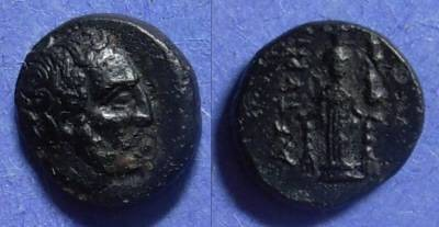 Ancient Coins - Astyra Mysia, Tissaphernes 413-8 & 400-395 BC, AE12