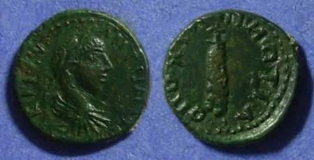 Ancient Coins - Nicomedia - Moesia Inferior, Elagabalus 218-222, AE16