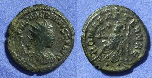 Ancient Coins - Macrianus – Usurper in the east 260/1 AD Antoninianus