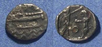 Ancient Coins - Sidon, Phoenicia 372-361 BC, 1/16 Shekel