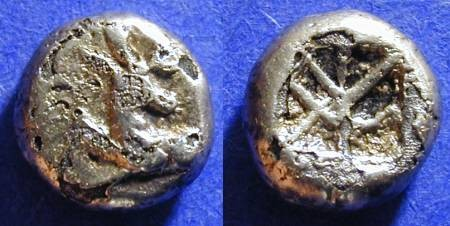 Ancient Coins - Ephesos Ionia - 625-600BC Phanes - 1/12 Stater -  FOURRE