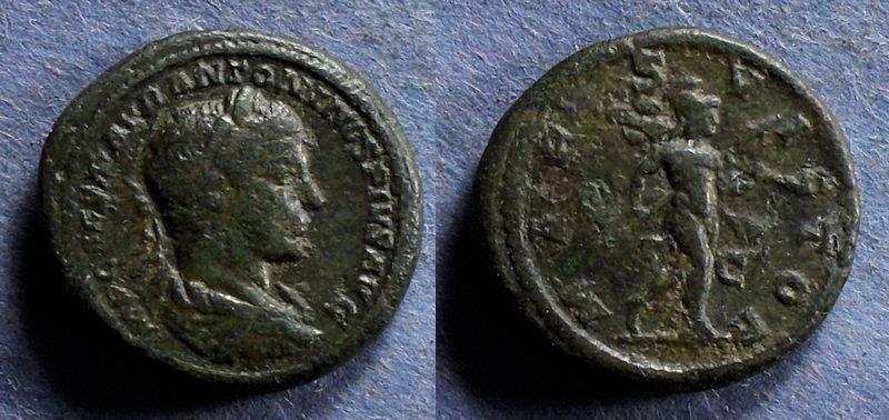 Ancient Coins - Roman Empire, Elagabalus 218-222, Aes