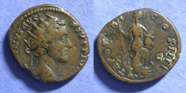 Ancient Coins - Roman Empire, Antoninus Pius 138-161, Dupondius