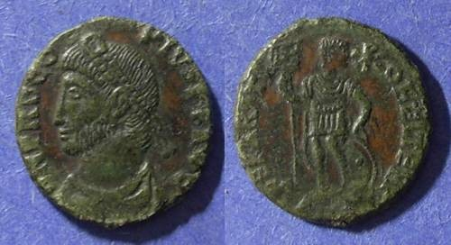 Ancient Coins - Roman Empire, Procopius 365/6, AE3