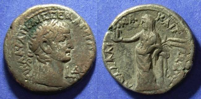 Ancient Coins - Roman Egypt, Claudius 41-54 AD, Tetradrachm