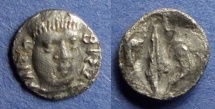 Ancient Coins - Campania, Philestia 325-275 BC, Obol