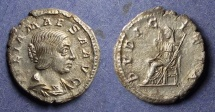Ancient Coins - Roman Empire, Julia Maesa d. 223, Denarius