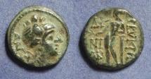 Ancient Coins - Cilicia, Korykos Circa 100-50 BC, AE13