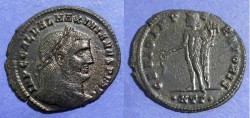 Ancient Coins - Roman Empire, Galerius 305-311, Follis