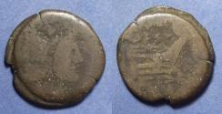 Ancient Coins - Roman Republic, C Anestius 146 BC, Aes