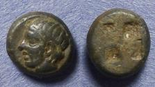 Ancient Coins - Lesbos, Uncertain Circa 500 BC, 1/8 Stater