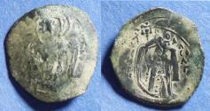 Ancient Coins - Byzantine Empire, Michael VIII 1261-1282, Billon Trachy