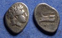 Ancient Coins - Bithynia, Kios 350-300 BC, Silver Hemidrachm