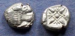Us Coins - Ionia, Miletos Circa 500 BC, Diobol