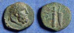 Ancient Coins - Cilicia, Aegeai 164-27 BC, Bronze AE13