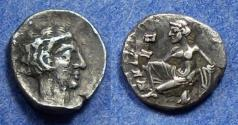 Ancient Coins - Cilicia, Tarsos Circa 370 BC, Obol