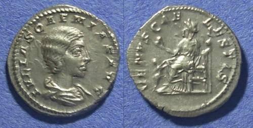 Ancient Coins - Roman Empire, Julia Soaemias 218-222 AD, Denarius